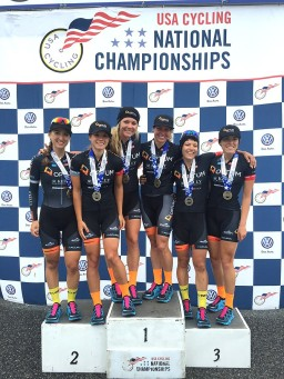 Amy Charity Optum Team Nationals