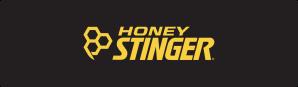Honey Stinger - Black Banner - Yellow Text
